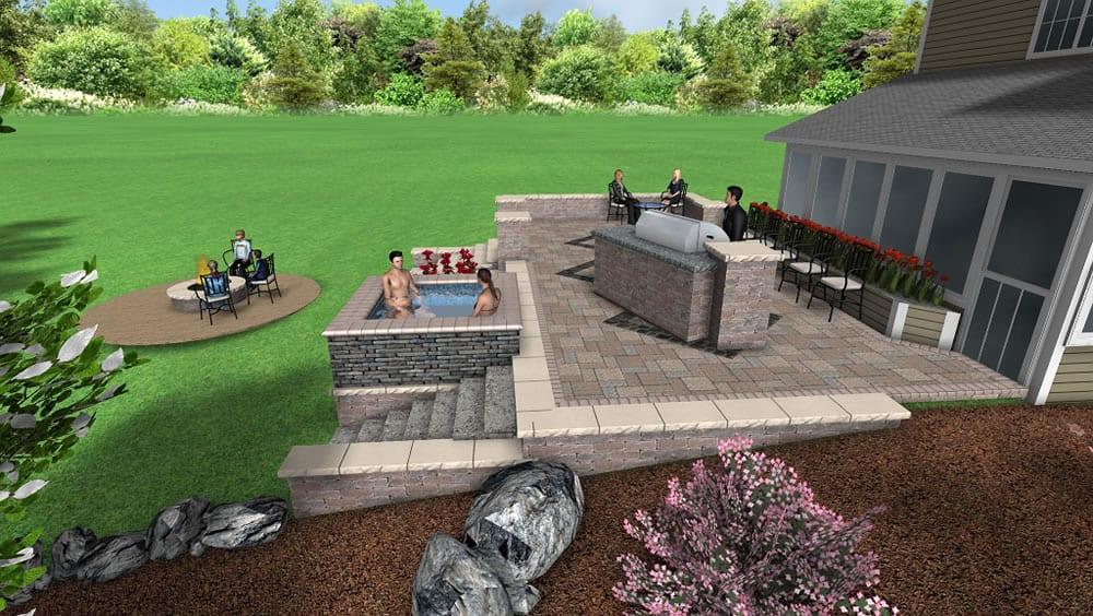 Custom landscape design services muskego wi for Terra firma landscape architecture