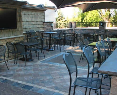 mattysbar custom patio