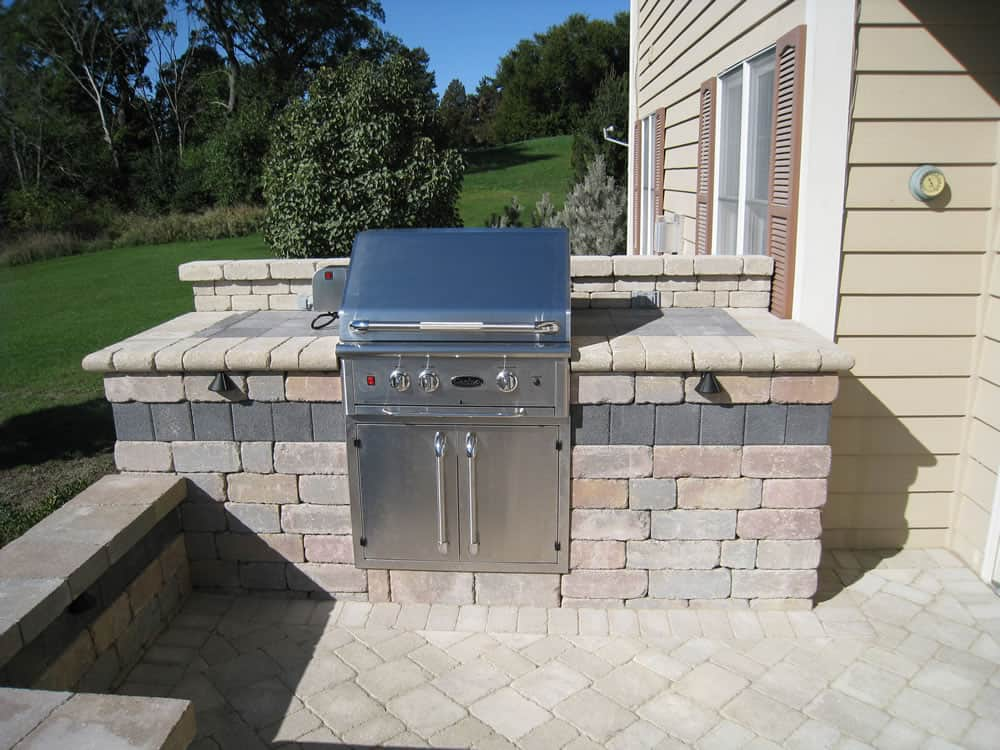 Outdoor Kitchens | Built-in GrillsMuskego, WI on Built In Grill Backyard id=97967
