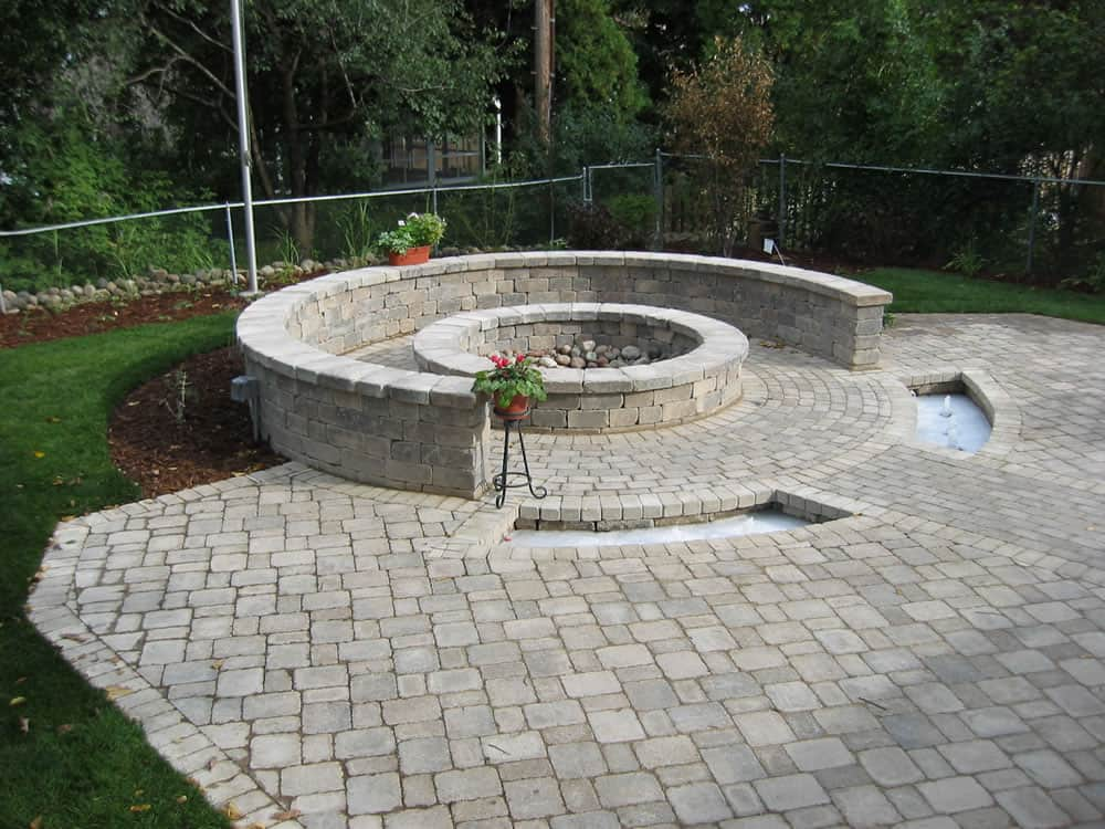 ... WI Built In Outdoor Fire Pit New Berlin, ...