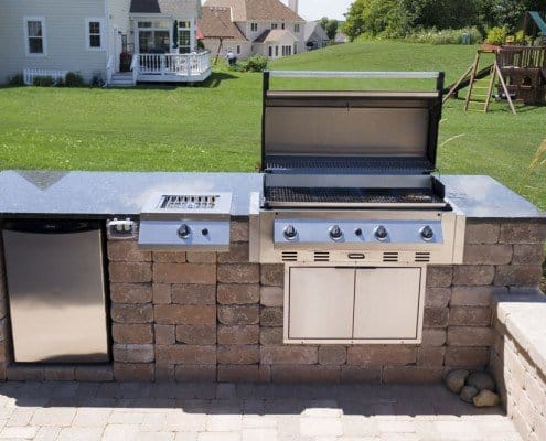 Built-in Outdoor Grill Whitefish Bay, WI