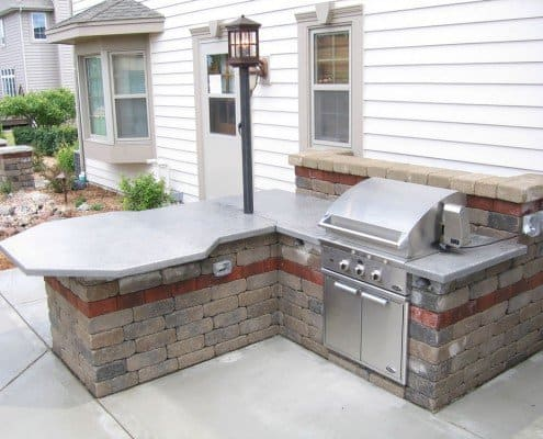 Built-in Patio Grill New Berlin, WI