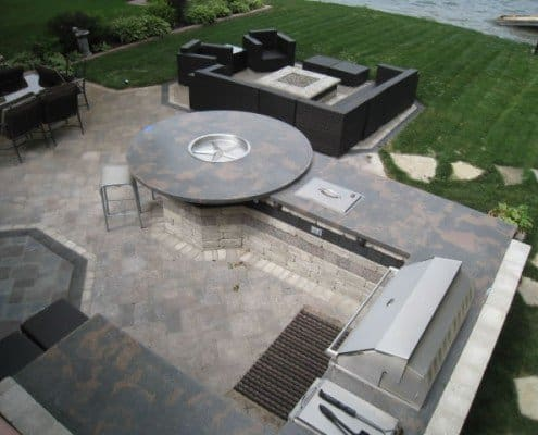 Custom Outdoor Kitchen New Berlin, WI