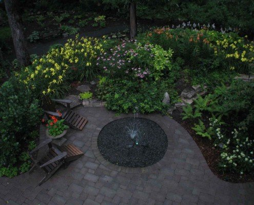 Custom Water Feature and Plants Hales Corners, WI