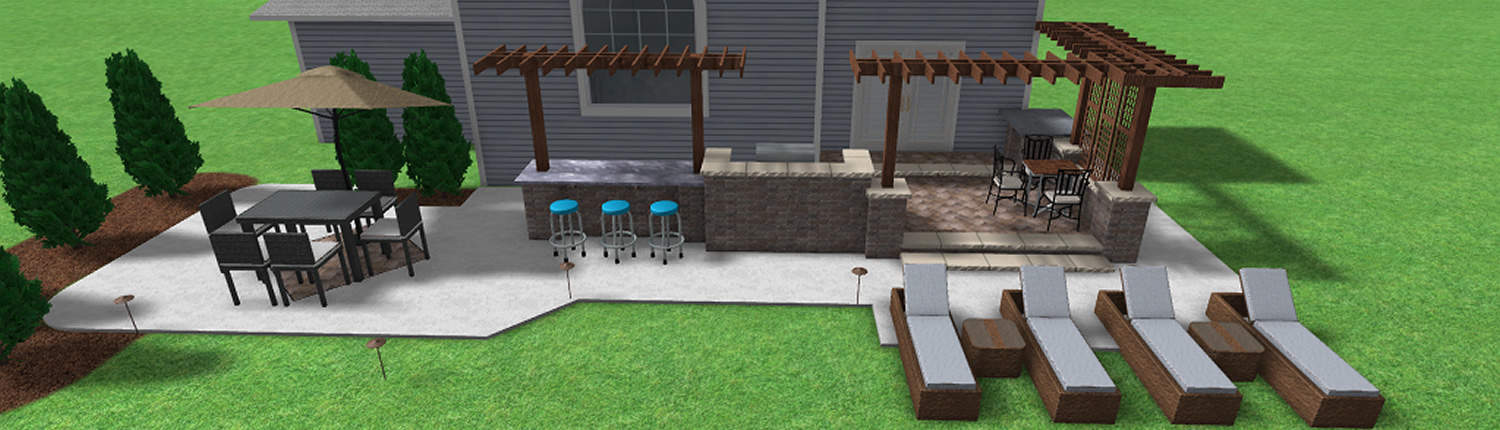 digital patio rendering