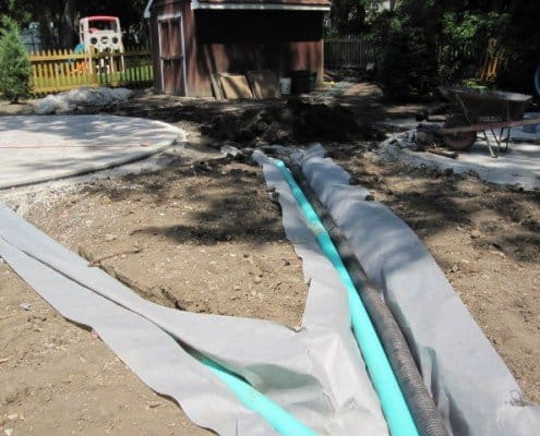 Drainage Project Brookfield, WI