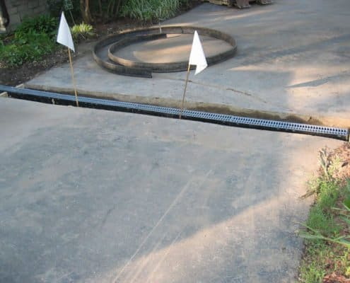 drainage solution driveway
