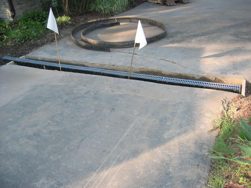 Grading Amp Drainage French Drains Amp Swales Muskego Wi