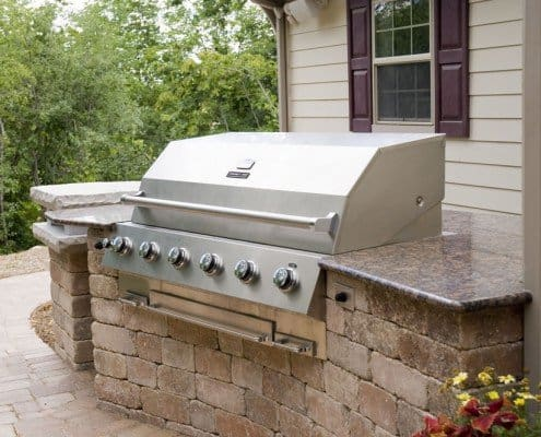 Outdoor Built-in Grill Elm Grove, WI