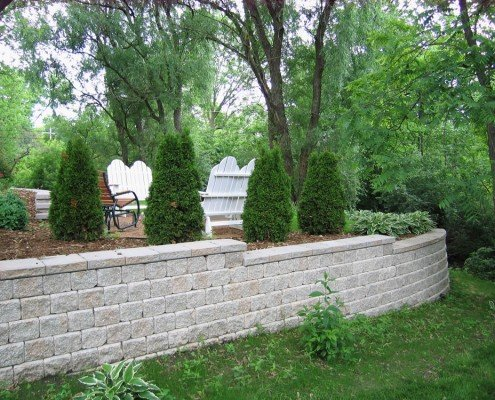 Elm Grove, WI Retaining Wall
