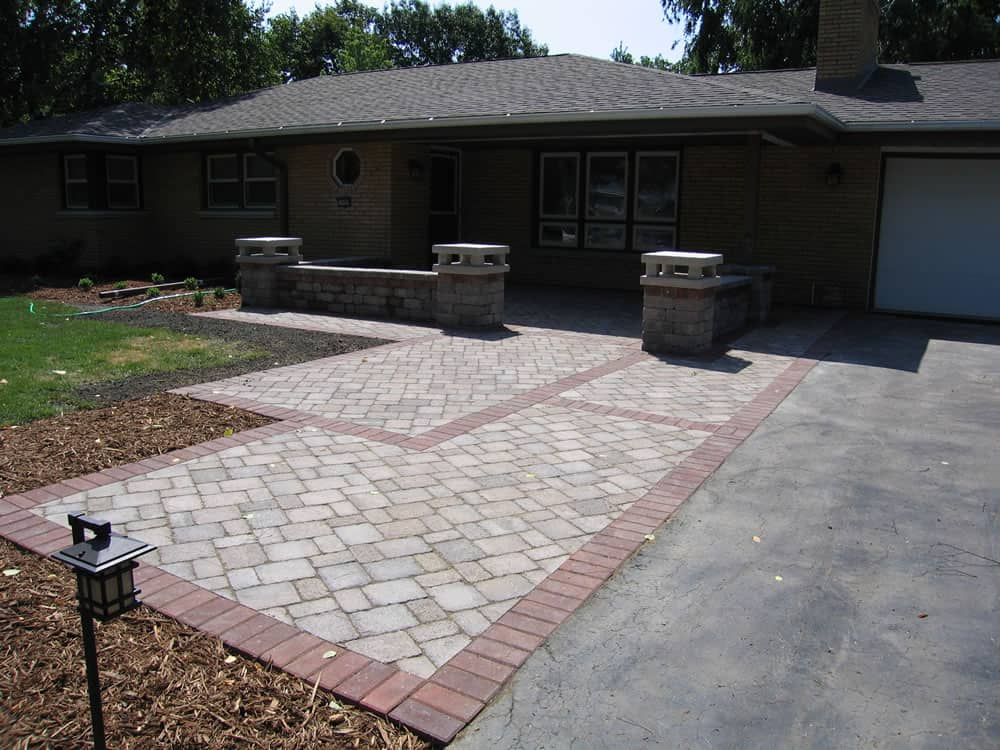 Front Entrances Amp Walkway Brick Amp Paver Front Paths