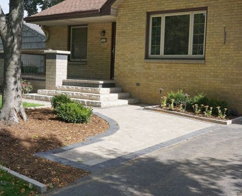 Front Paver Walkway