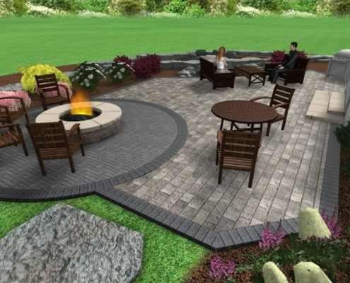 Custom 3D Landscape Design
